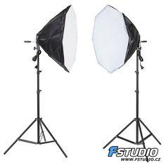 Set 2x daylight Octa 65cm