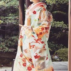 ilo-uchikake: robe style Japanese wedding kimono✨