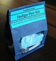 Indigo Dye Kit - DIY Dye Your Own Yarn/Roving/Fabric Kit