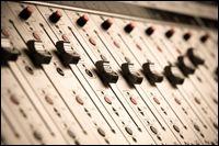 Bright Vertical Close Up Of Audio Sliders Photography , Icon Design, Web Design, Media Web, Blue Rooms, Creative Icon, Sliders, Branding Design, Audio, Photography