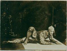 Vaslav Nijinsky in Les Orientales by Eugene Druet 1910