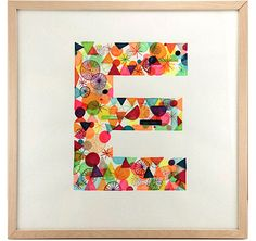 """""""E"""" by Mike Perry."""