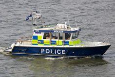 Police launch John Hariott IV.