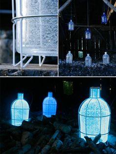 human energy lamp light