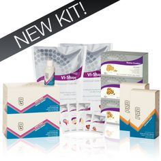 """Visalus Fit Kit - The """"Fit Kit"""" is great for athletes and those that lead active lifestyles.  This kit can be used to help maintain weight, build lean muscle, or just for great nutrition.  It includes 60 meals, 30 snacks, 60 energy drinks.    teamwigdor.bodybyvi.com"""