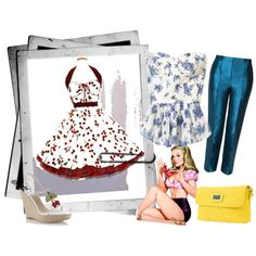"""Pin up""  by terresekopp on Polyvore"