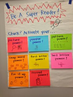 """Kindergartners are learning to use their Super Hero Reading Powers to read every day. Today, students learned how to """"activate"""" their ..."""