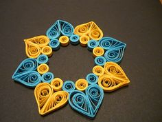 Unique Quilling for Hearts