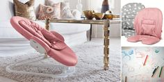NEW! Stokke Steps Bouncer for Baby now comes in PINK