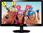 Monitor LED Philips 22inch 220V4LSB/00, DVI-D, VGA, 5ms (Negru), monitoare led pret ieftin