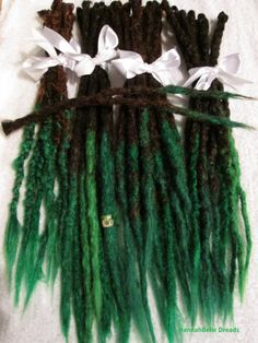 Sale 30 human hair dreadlock extensions ombre by fractangular custom transitional ombre crochet synthetic dreadlock extensions natural look single ended long 60 pieces pmusecretfo Images