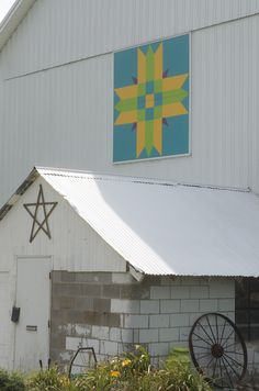 Menominee's Blanket; Marshall County Barn Quilt Trail, Indiana