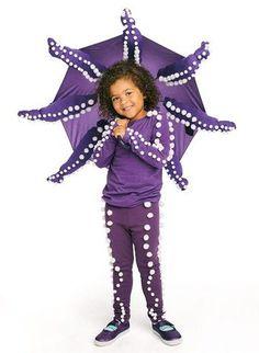 DIY Octopus Halloween Costume Idea