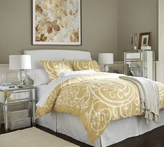 Lewis Slipcovered Headboard