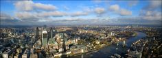 https://flic.kr/p/i6DeFo | London panoramic view-   [2904x1056] | The City of…
