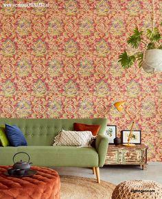 Sundari wallpaper Wallpaper S, Decor, Buy Wallpaper Online, Formal Living Rooms, Wallpaper, Interior, Vintage Wallpaper, Wall Coverings, Mural Wallpaper