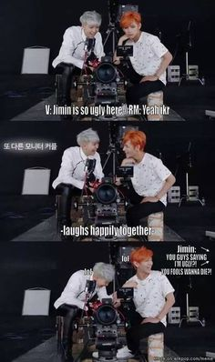 Hahahaha their friendship that they have is beyond brothers or family