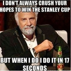 #blackhawks lol thought you'd like this one, although I'm sure you already saw it...