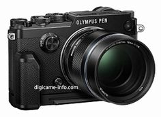 Olympus has resurrected a classic film camera with the new PEN-F Micro Four Thirds mirrorless camera Kodak Camera, Camera Gear, Camera Phone, Film Camera, Camera Pouch, Retro Camera, Camera Olympus, Olympus Pen F, Olympus Digital Camera