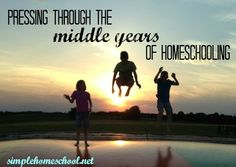 Hannah shares ideas and inspiration for homeschooling through the saggy middle (school years.)