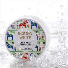[DearPacker] Nordic White Water Peeling Pack Mask and Peel Korean cosmetic K Beauty, Packing, Skin Care, Cosmetics, Water, Spirulina, Bb, Korean, Bag Packaging