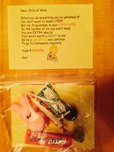 First Reconciliation poem kit