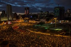 Thousands Gather for Protests in Brazil's Largest Cities - NYTimes.com