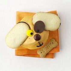 super cute dog cupcakes!