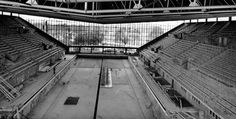 The pool under construction for the 1956 Olympic Games. Melbourne, AUS.