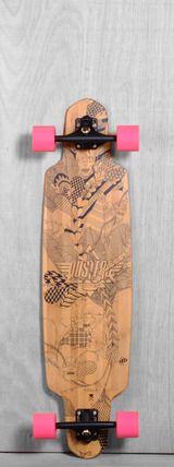 """Dusters 38"""" Lella Longboard Complete"""
