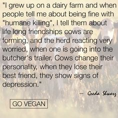 A reason to go vegan Vegan Facts, Vegan Memes, Vegan Quotes, Reasons To Go Vegan, Why Vegan, Vegan Animals, Think, Animal Cruelty, Animal Welfare
