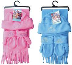 Kids Winter Scarf Hat Gloves Set Case Pack 72