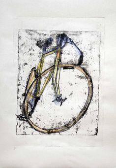 BSA Print Experiment 8 | Bicycle Paintings, Prints and Custom Bike Art Portraits