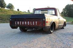 68 Chevy Bagged C10 Rat Hot Rod Patina Shop Tail Dragger Truck Pickup 67 69 70 | eBay