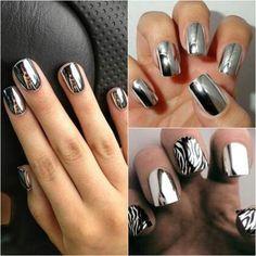 Chrome nails!!!! Yummmm!!! ♥