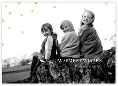Nightly - gold foil stamping photo (paperless post)