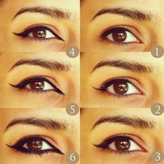 Get on board with the Arabic trend by learning the basics of sexy eyeliner.