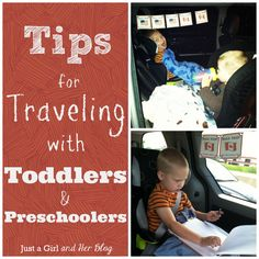 Make your road trip easy peasy with these tips for traveling with toddlers and preschoolers!