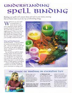 Magick Spells:   Understanding #Spell Binding.