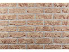 Klinkerriemchen / Handform Riemchen K200R-WDF / Klinker / Fassade / Muster / Tafel / rose
