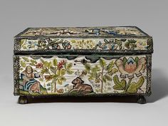 Casket with scenes f