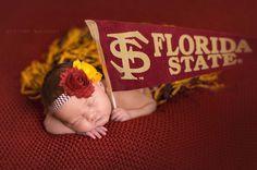 SALE FSU Chevron headband Florida State Seminoles by ItsAllChevron, $6.99