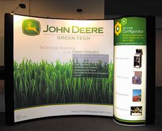 John Deere Green Tech Trade Show Display | Flickr - Photo Sharing!