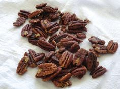 "21DSD Cinnamon Pecans take very little preparation, minimal dish washing, low carb, gluten-free & Paleo. A great lazy person treat and I say ""lazy"" proudly."