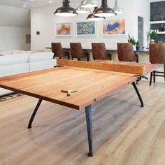 Home design game basements 38 super ideas Industrial Game Tables, Industrial Style, Warehouse Living, Game Room Basement, Home Styles Exterior, Basement Inspiration, Home Office Storage, Table Games, Bars For Home