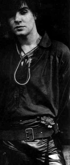 early Duran Duran days..Simon Le Bon, gorgeous!