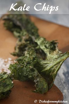 Dishesfrommykitchen: BAKED KALE CHIPS - MUNCH HEALTHY !!!