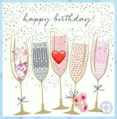 Happy Birthday Wishes For Him, Happy Birthday Hearts, Happy Birthday Flower, Birthday Blessings, Birthday Wishes Quotes, Happy Birthday Pictures, Happy Birthday Greetings, Birthday Fun, Birthday Cards