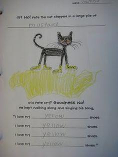 Pete the Cat class book