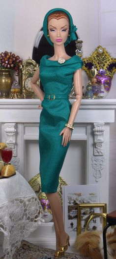 Garland for Silkstone Barbie and Victoire Roux by MatisseFashions